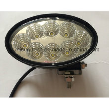142mm Oval 12V Waterproof 40W LED Marine Work Light
